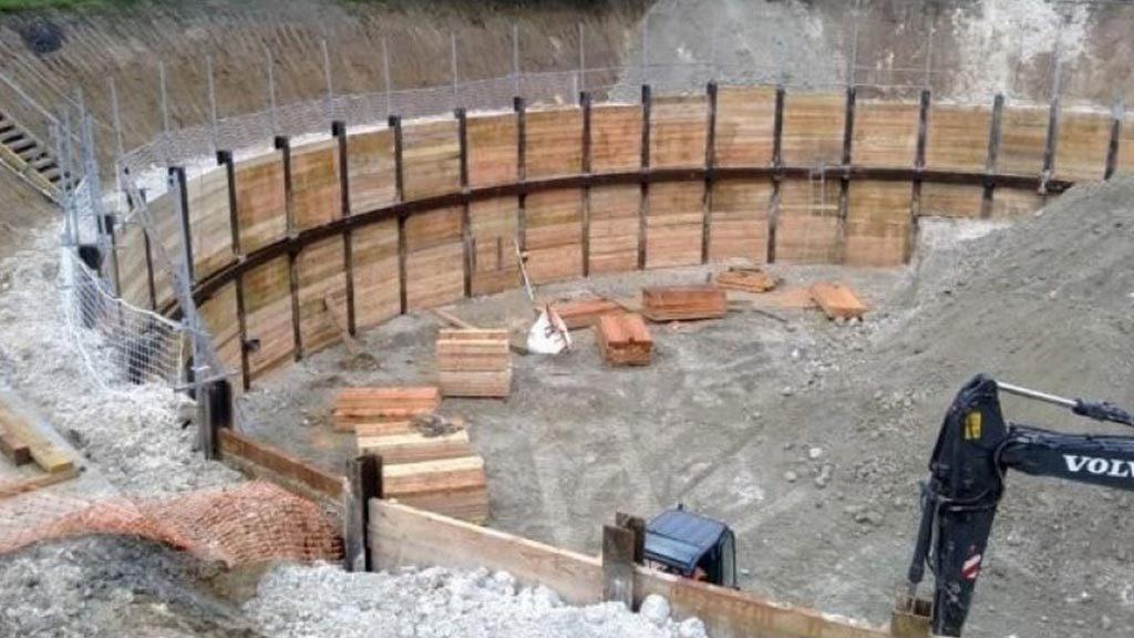 پایدار سازی گود و سازه های نگهبان